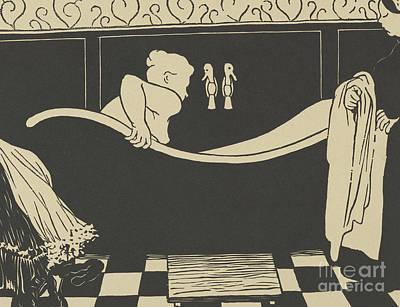 In The Bath Painting - The Bath by Felix Edouard Vallotton