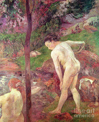 Painting - The Bathers, 1887 by Paul Gauguin