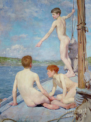 The Bathers, 1889 Art Print