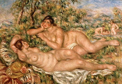 1918 Painting - The Bathers by Pierre Auguste Renoir