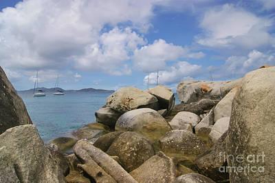 Photograph - The Baths Virgin Gorda British Island by Olga Hamilton