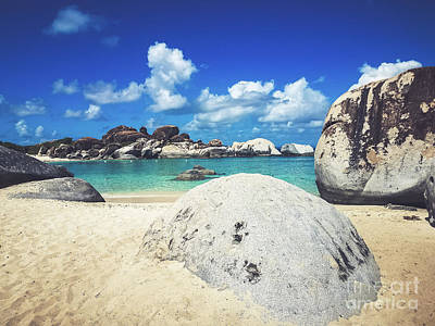 Photograph - The Baths - Virgin Gorda by Colleen Kammerer