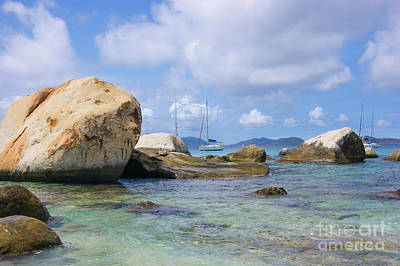 Photograph - The Baths Virgin Gorda National Park British Virgin Islands  by Olga Hamilton