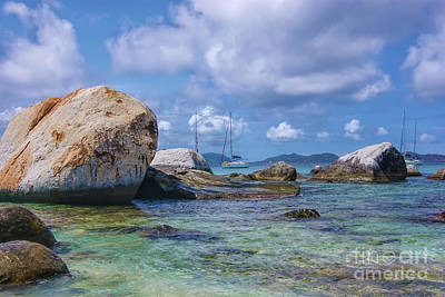 Photograph - The Baths Virgin Gorda National Park  by Olga Hamilton