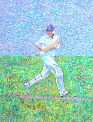 Painting - The Batsman by Elizabeth Lock