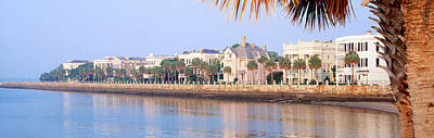 Mansion Photograph - The Battery, Waterfront, Charleston by Panoramic Images