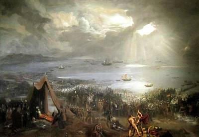 Painting - The Battle Of Clontarf by Hugh Frazer