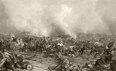Pennsylvania Drawing - The Battle Of Gettysburg, July 1 To 3 by Vintage Design Pics