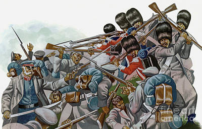 Painting - The Battle Of Inkerman, 1854 by Ron Embleton