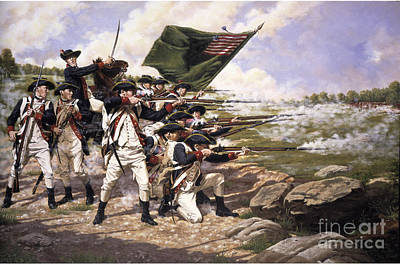 The Battle Of Long Island Original by Frederick Holiday