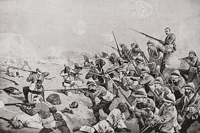 The Battle Of Tel El-kebir Or El-tal Art Print