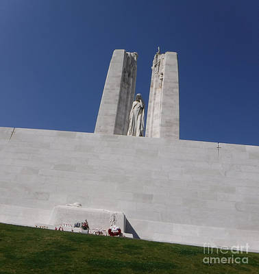 Photograph - The Battle Of Vimy Ridge Memorial by Rod Jellison