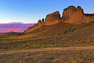 The Battlements Of Shiprock - New Mexico - Landscape Art Print by Jason Politte