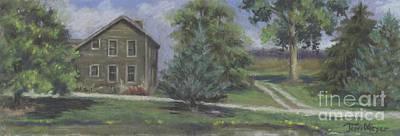 The Bauer Farm Art Print by Terri  Meyer