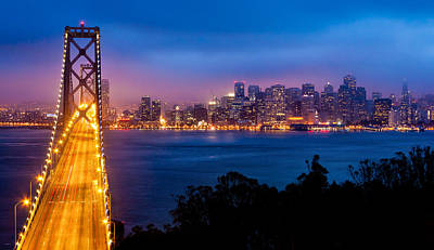 Photograph - The Bay Bridge by Alexis Birkill