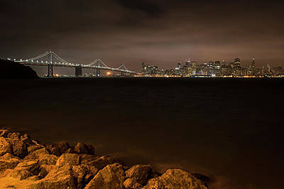 Photograph - The Bay Bridge San Francisco Ca by Toby McGuire