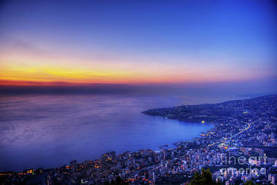 Photograph - The Bay In Blue by Aperturez - Mohamed Hassouneh Photography