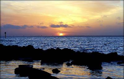 Photograph - The Bay Of Pensacola by Faith Williams