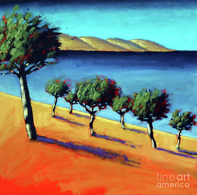 Mallorca Painting - The Bay by Paul Powis