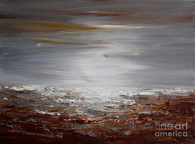Painting - The Bay by Preethi Mathialagan