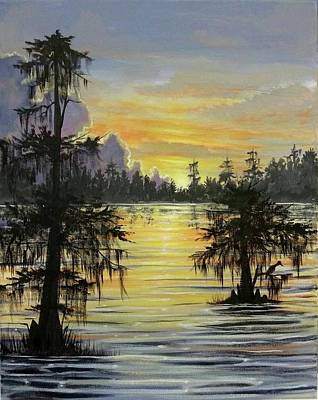 Painting - The Bayou by Kimberly Blaylock