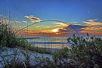 Photograph - The Beach 2 by HH Photography of Florida
