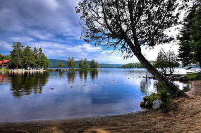 Photograph - The Beach At Covewood Lodge by David Patterson