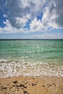 Photograph - The Beach At Fort Zachary Taylor Historic State Park In Key West by Bob Slitzan