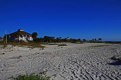 Photograph - The Beach At Gasparilla Island State Park I by Michiale Schneider