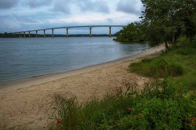 Wall Art - Photograph - The Beach At Solomons Island by Cliff Middlebrook
