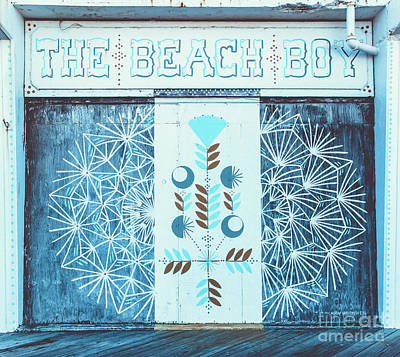 Photograph - The Beach Boy  by Colleen Kammerer