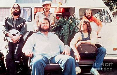 Jardine Photograph - The Beach Boys 1976 Promotional Photo by The Titanic Project