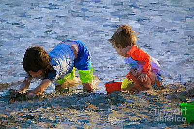 Painting - The Beach Boys by Judy Kay