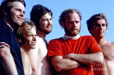 Jardine Photograph - The Beach Boys On Zuma Beach July 1967. by The Titanic Project