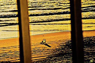Photograph - The Beach Chair by Gina O'Brien