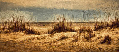 Photograph - The Beach by Dave Bosse