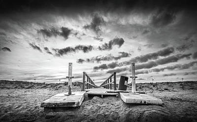 Photograph - The Beach Exit. by Gary Gillette