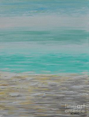 Painting - The Beach by Greg Moores