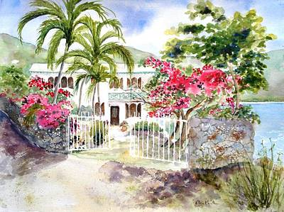 Painting - The Beach House by Diane Kirk