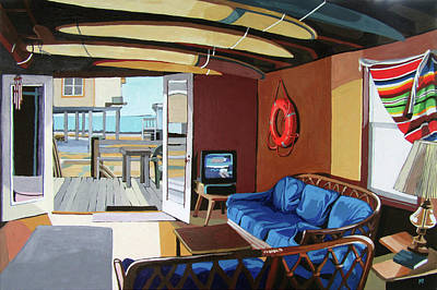Painting - The Beach House by Melinda Patrick