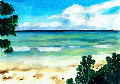 Painting - The Beach by Katie Sasser