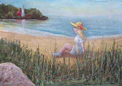 Painting - The Beach by Robert Harrington