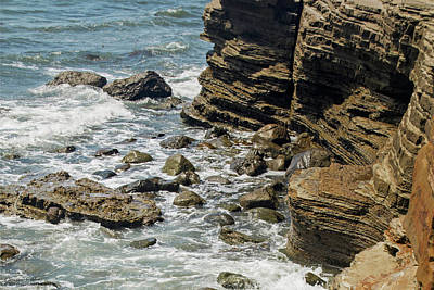 Photograph - The Beaches And Tidepools Of Cabrillo - 10 by Hany J