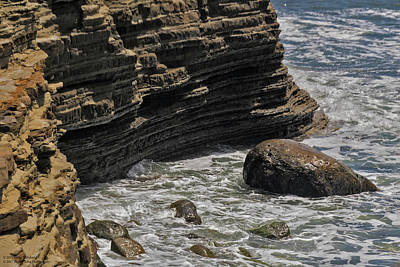 Photograph - The Beaches And Tidepools Of Cabrillo - 9 by Hany J