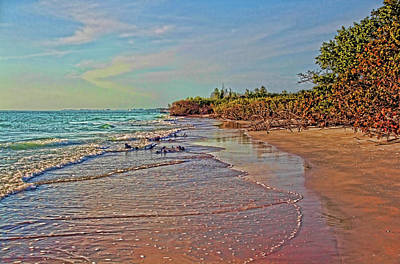 Photograph - The Beaches Of Longboat by HH Photography of Florida