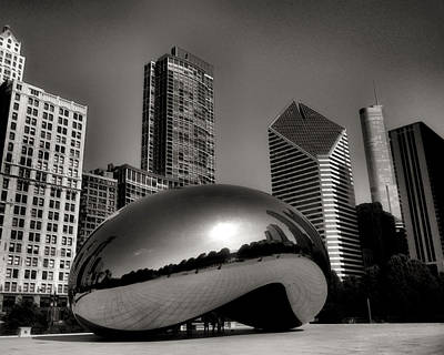 The Bean - 4 Art Print