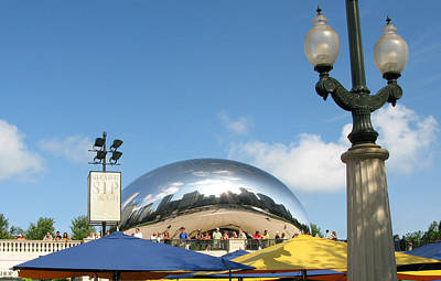 Photograph - The Bean by Frank Winters