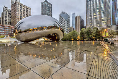 The Bean Hdr 01 Art Print