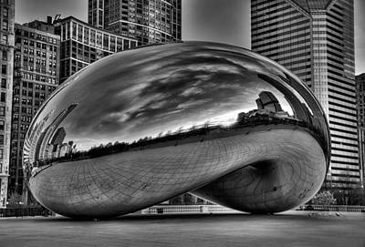 Jeff Lewis Photograph - The Bean by Jeff Lewis