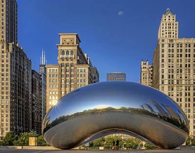 Photograph - The Bean - Millennium Park - Chicago by Nikolyn McDonald